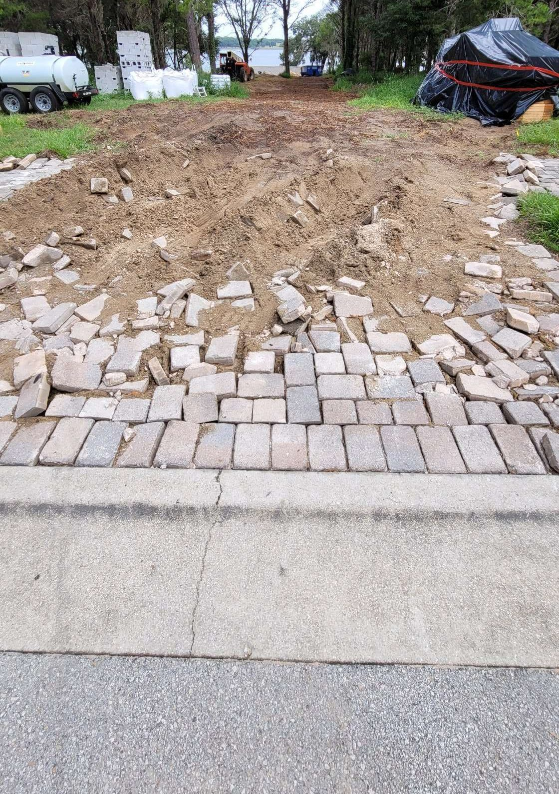 UNSAFE IN BELLA COLLINA - UNCARED FOR PAVEMENTS