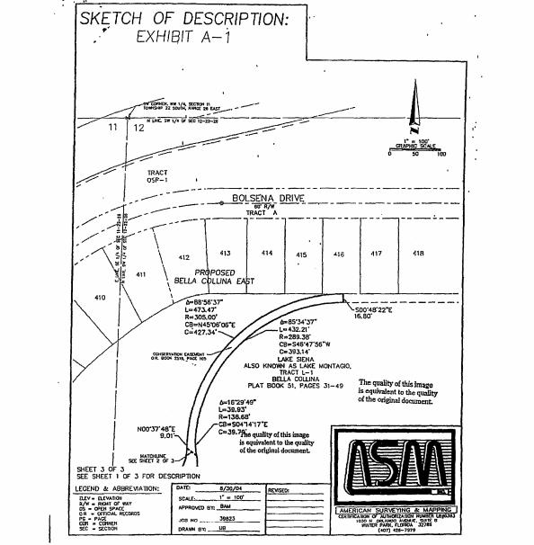 SKETCH OF DESCRIPTION EXHIBIT A-1