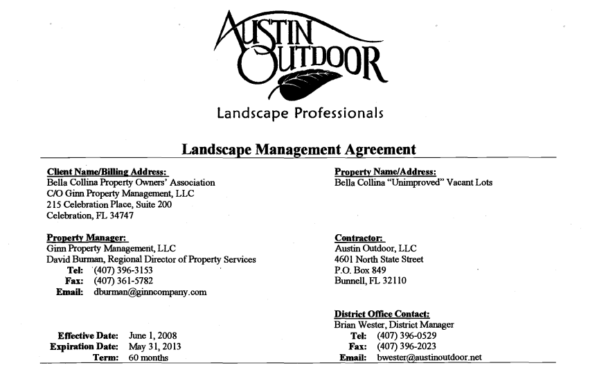 Austin Outdoor  Landscape Professionals