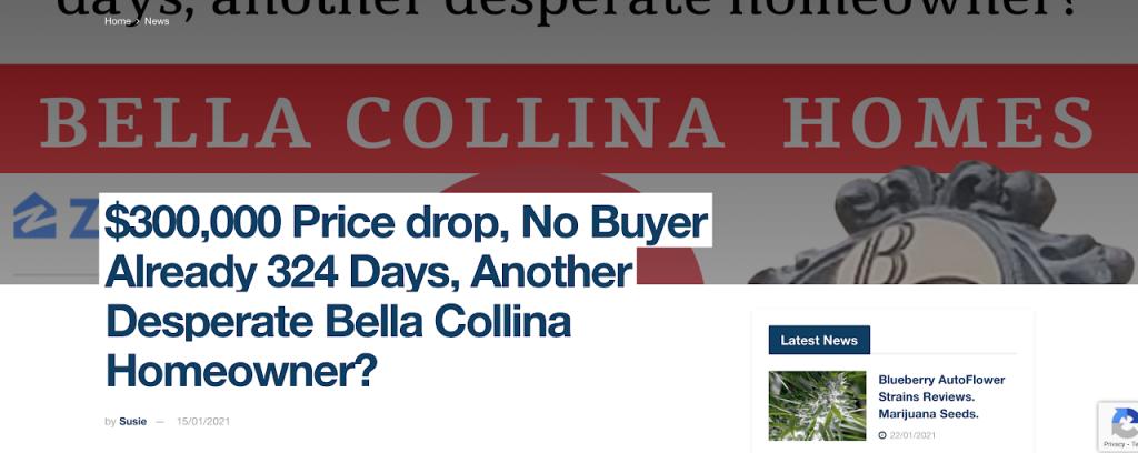 $300,000 price drop, No Buyer Already 324 Days.