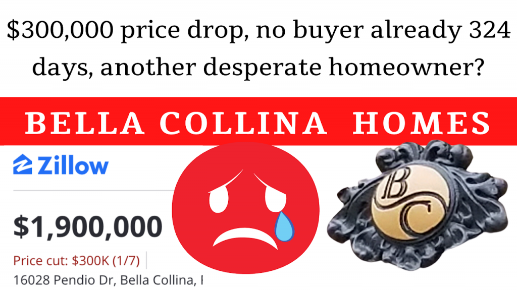 $300,000 prices drop no buyers already 324 days