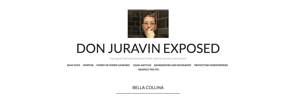 DON JURAVIN EXPOSED
