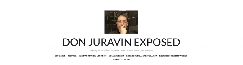 Don Juravin exposed bella collina frauds and scams