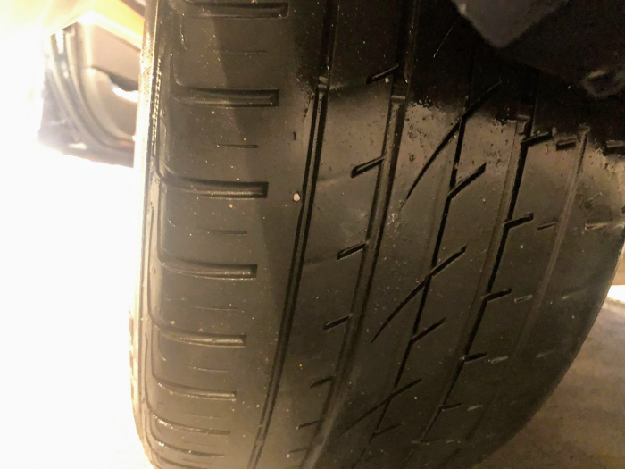 5 tires damaged in retaliation or simply Bella Collina is not safe, claims Anna Juravin