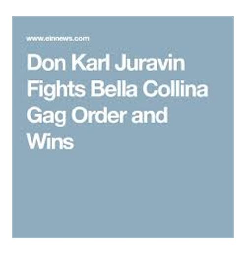 Don Juravin Fights Bella Collina Gag Order and Wins