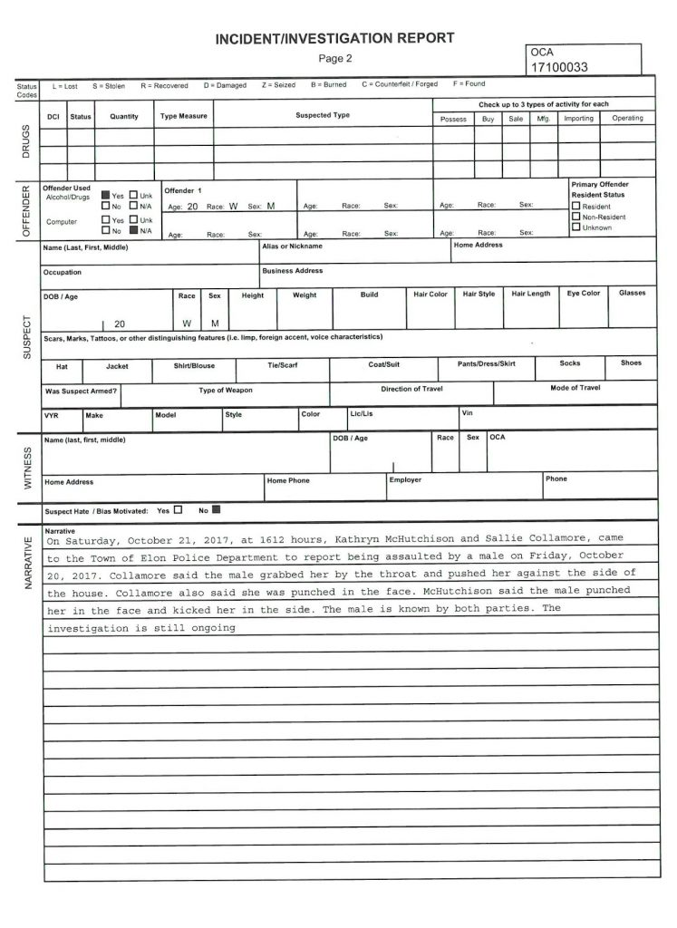Spencer Schar Police Report-2