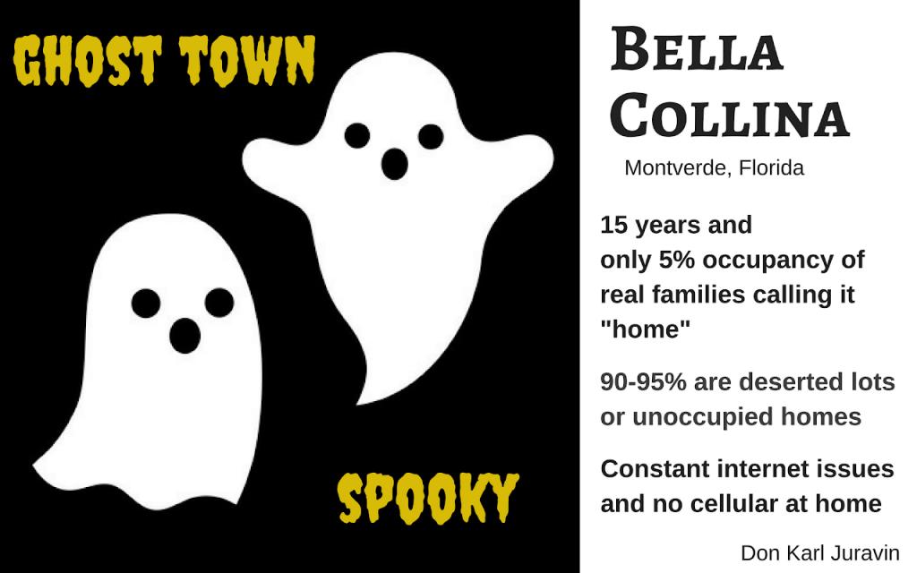 Bella Collina A GHOST TOWN